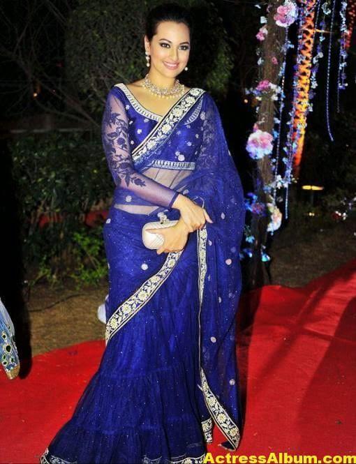 Sonakshi Sinha Latest Stills in Beautiful Saree 2