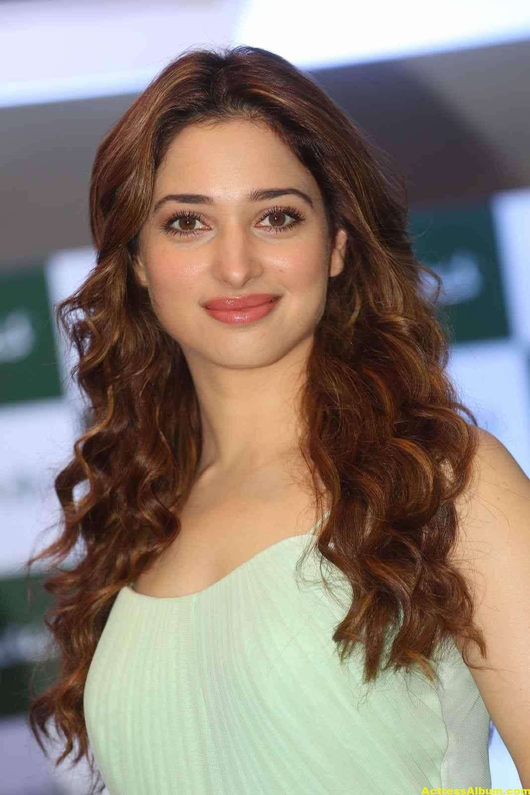 Tamanna Latest Cute Photos In Green Dress