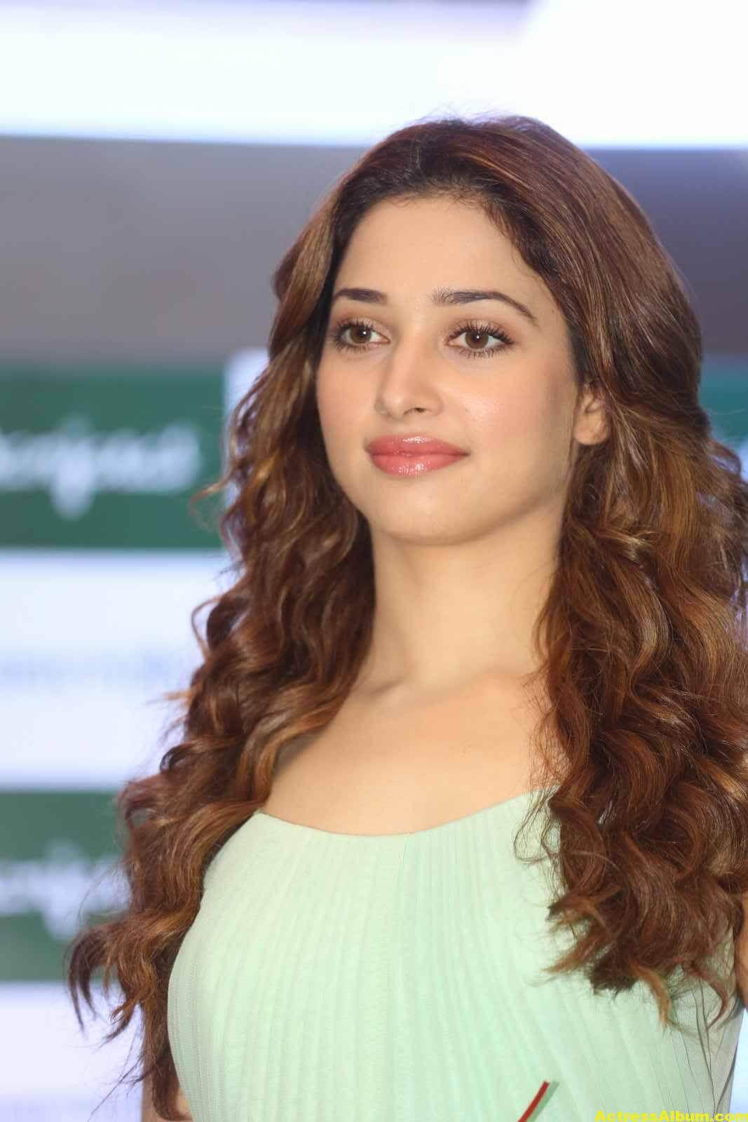 Tamanna Latest Cute Photos In Green Dress 4
