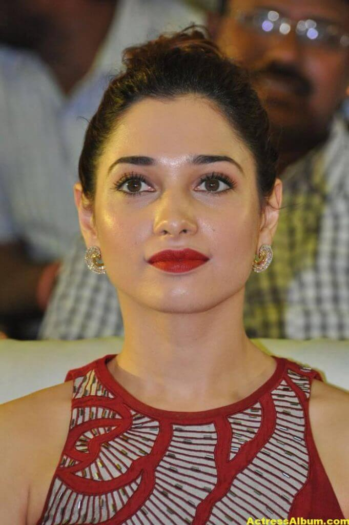Tamanna Latest Stills In Hot Red Dress 1