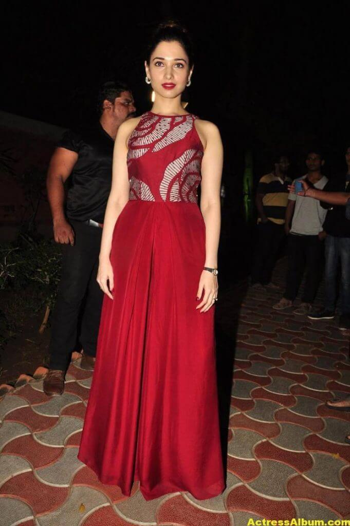 Tamanna Latest Stills In Hot Red Dress 4
