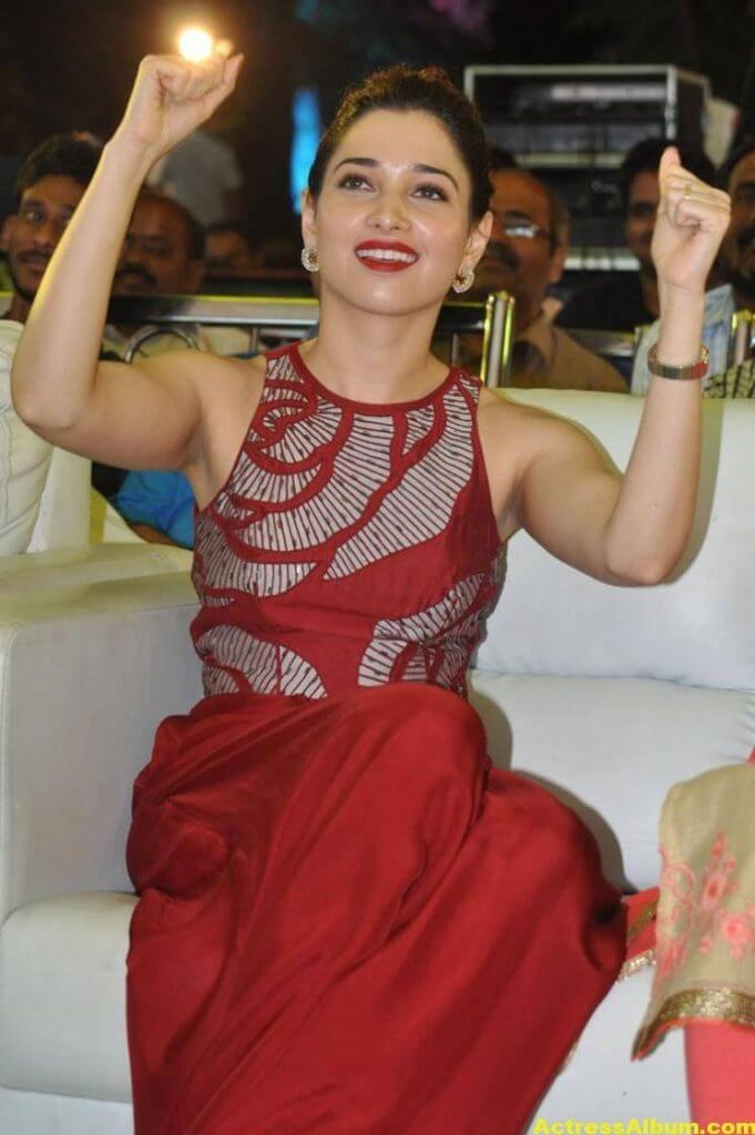 Tamanna Latest Stills In Hot Red Dress 5