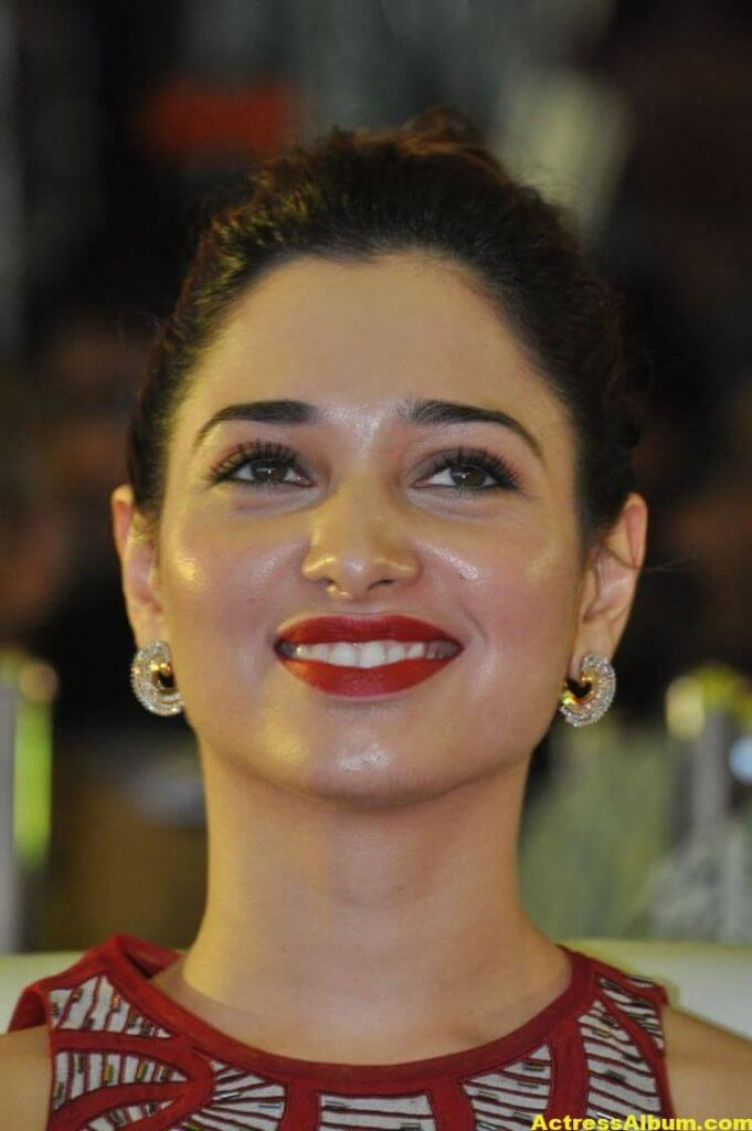 Tamanna Latest Stills In Hot Red Dress 6