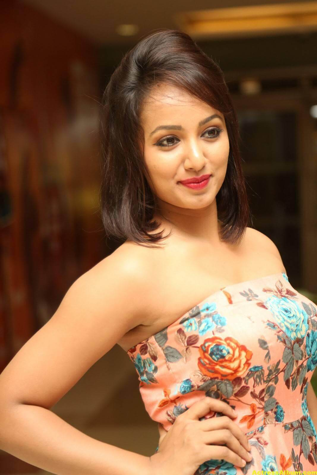 Tejaswi Latest Hot Photoshoot Gallery At AMF 5