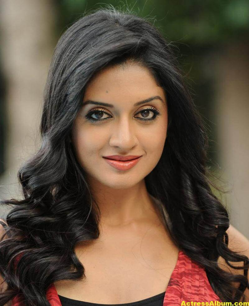 Vimala Raman Gorgeous Stills In Red Dress 1