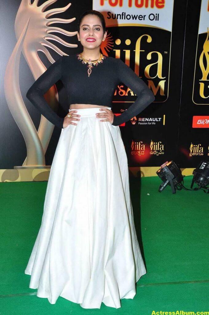 Vishakha Singh Hot Photos In Black Dress At IIFA Awards (4)