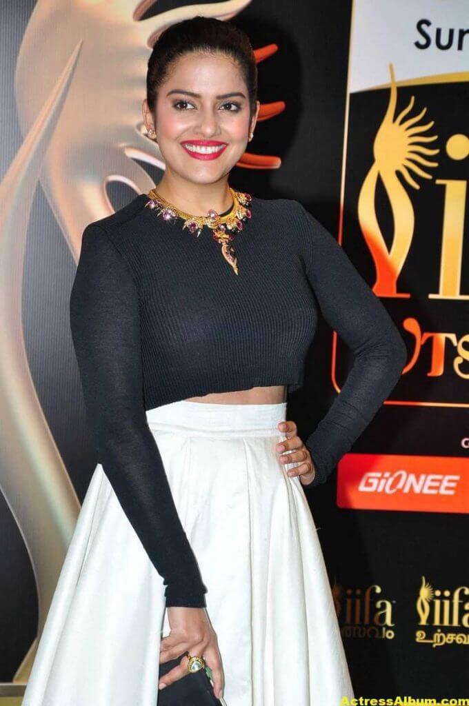 Vishakha Singh Hot Photos In Black Dress At IIFA Awards (5)