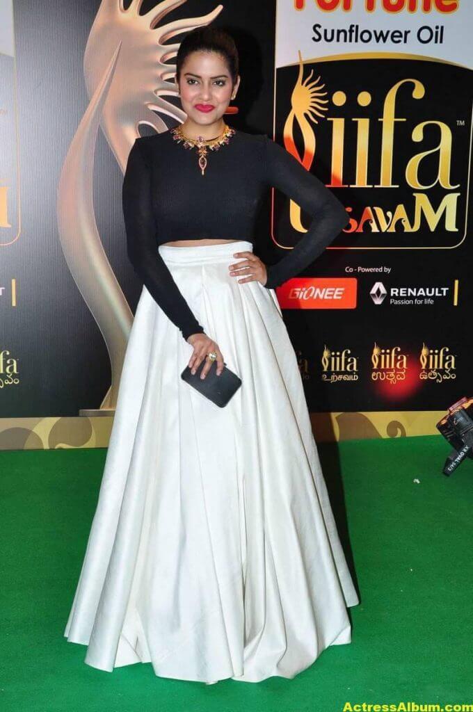 Vishakha Singh Hot Photos In Black Dress At IIFA Awards (6)