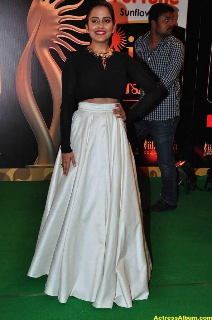 Vishakha Singh Hot Photos In Black Dress At IIFA Awards (7)