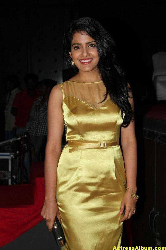 Vishakha Singh Hot Photos In Yellow Dress (1)