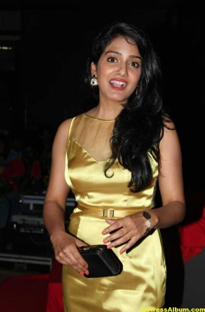 Vishakha Singh Hot Photos In Yellow Dress (4)