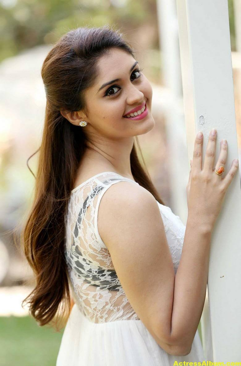 Actress Surabhi Latest Hot Photos In White Dress 1