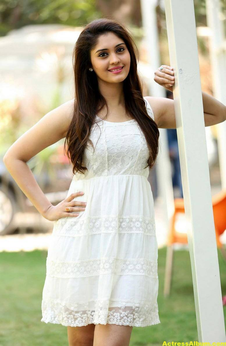 Actress Surabhi Latest Hot Photos In White Dress 3