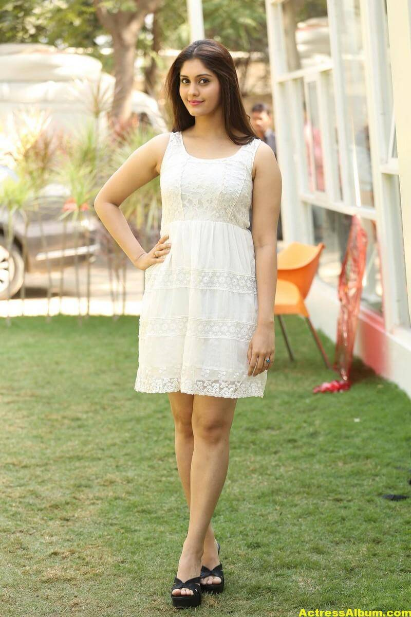 Actress Surabhi Latest Hot Photos In White Dress 4