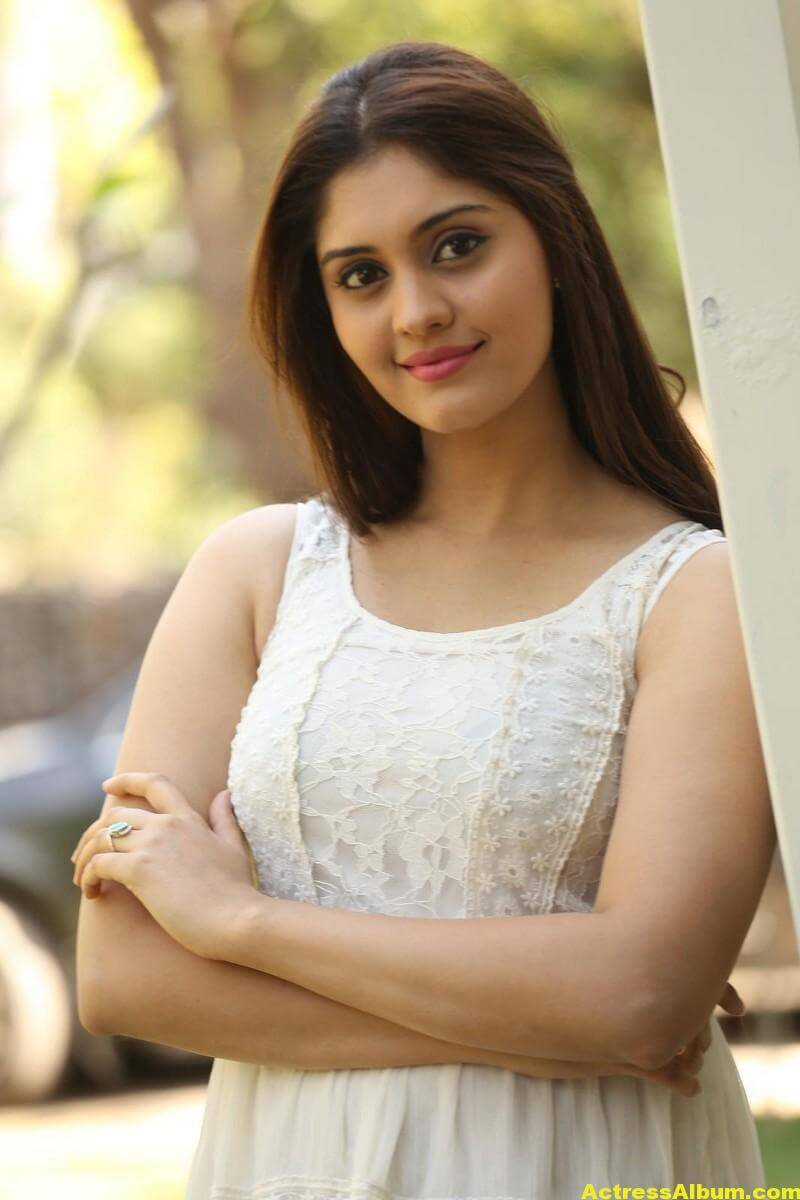 Actress Surabhi Latest Hot Photos In White Dress 5