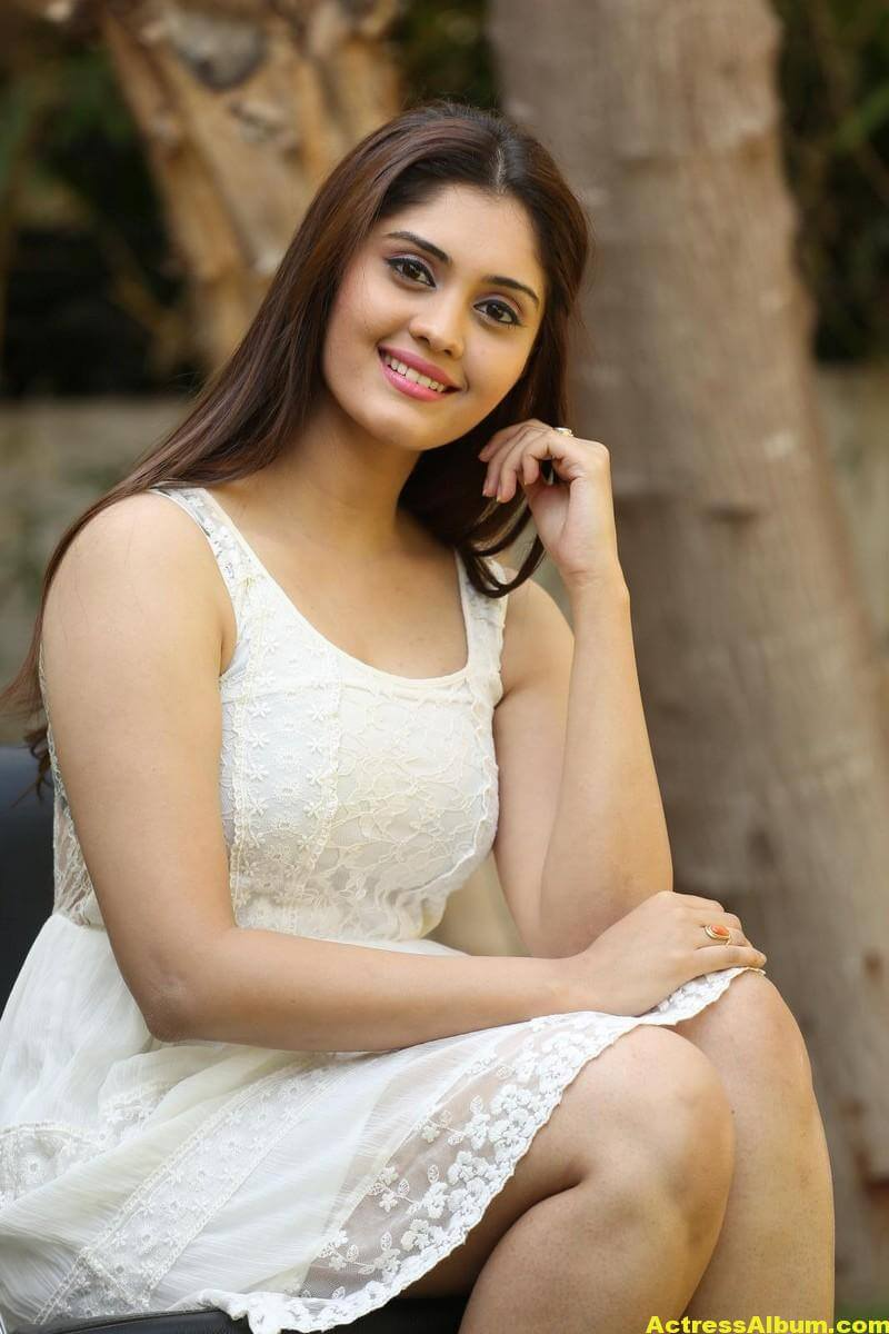 Actress Surabhi Latest Hot Photos In White Dress 6