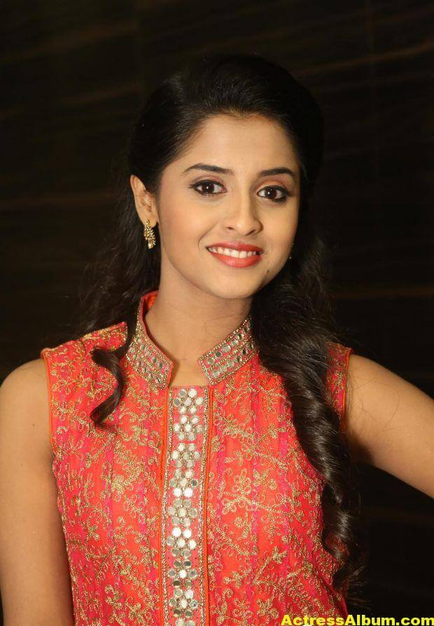 Arthana Latest Cute Stills In Red Dress 3