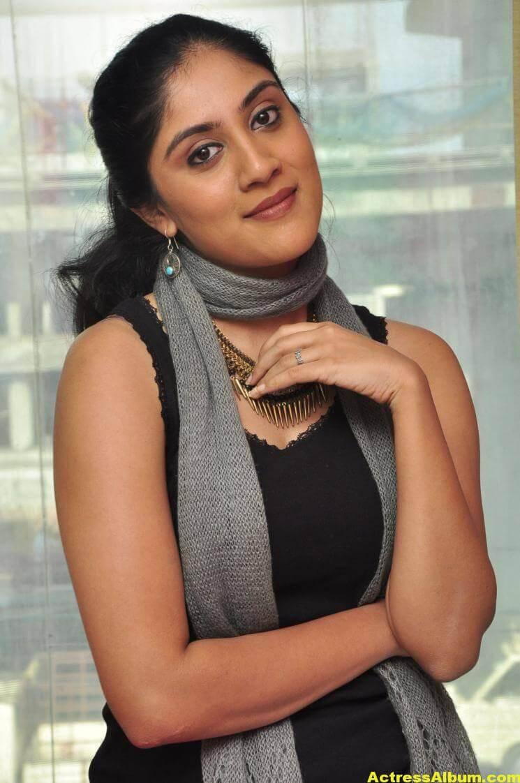 Dhanya Balakrishna Hot Stills In Black Dress 4