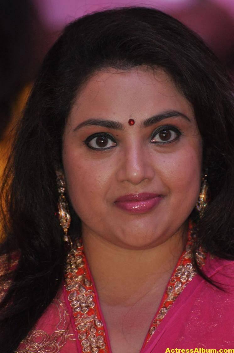 Meena Stills Latest Cute Stills In Pink Dress 1