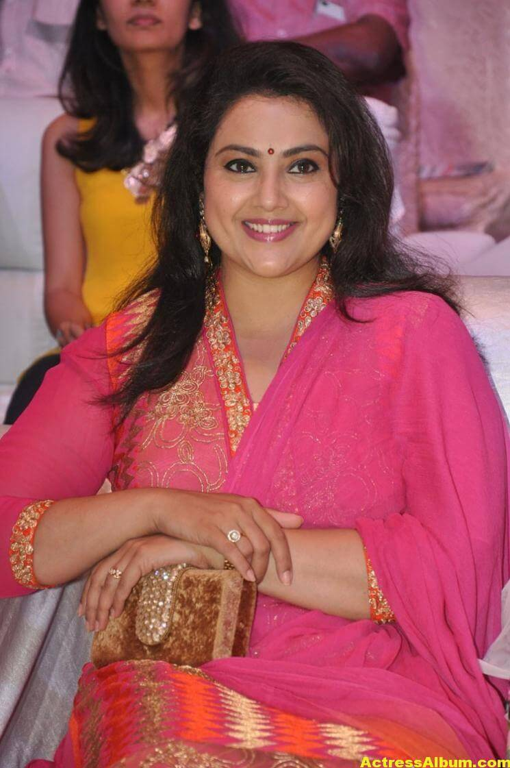 Meena Stills Latest Cute Stills In Pink Dress 3