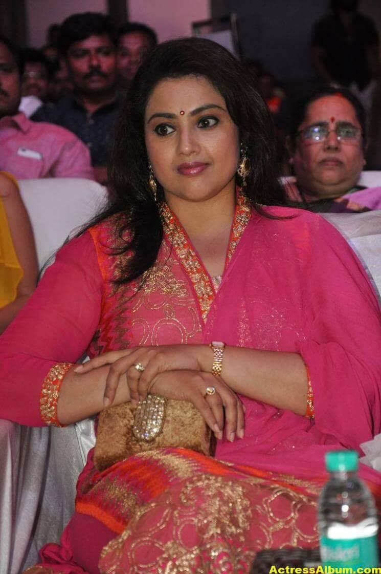 Meena Stills Latest Cute Stills In Pink Dress 44