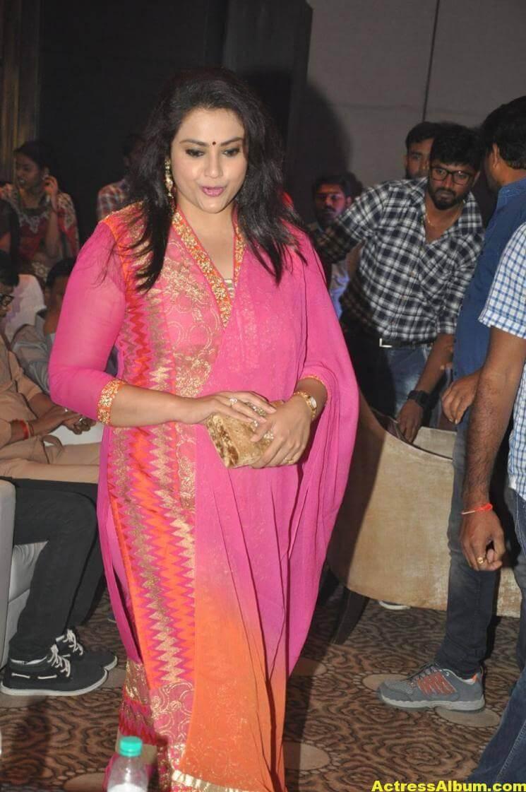Meena Stills Latest Cute Stills In Pink Dress 5