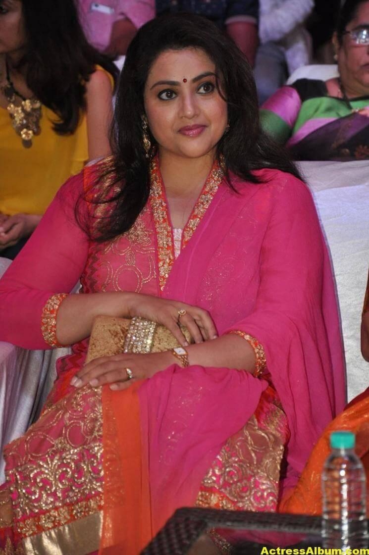 Meena Stills Latest Cute Stills In Pink Dress 6