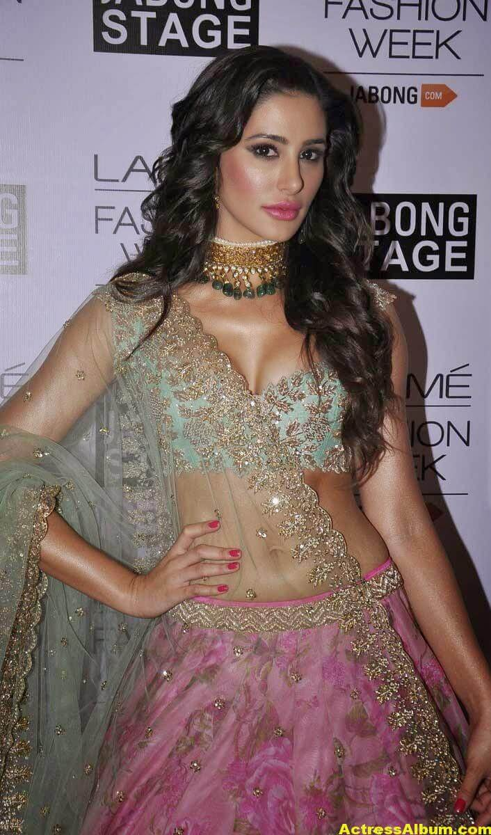Nargis Fakhri Latest Hot Photos In Pink Dress 1