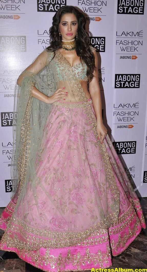 Nargis Fakhri Latest Hot Photos In Pink Dress 5