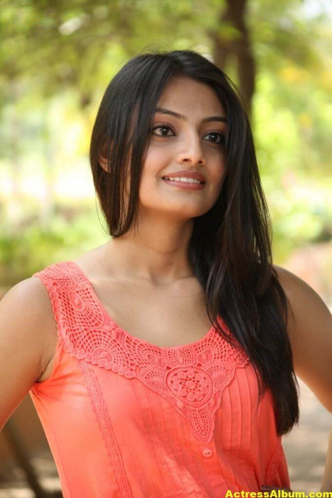 Nikitha Narayan Latest Cute Photo Shoot In Pink Dress 3