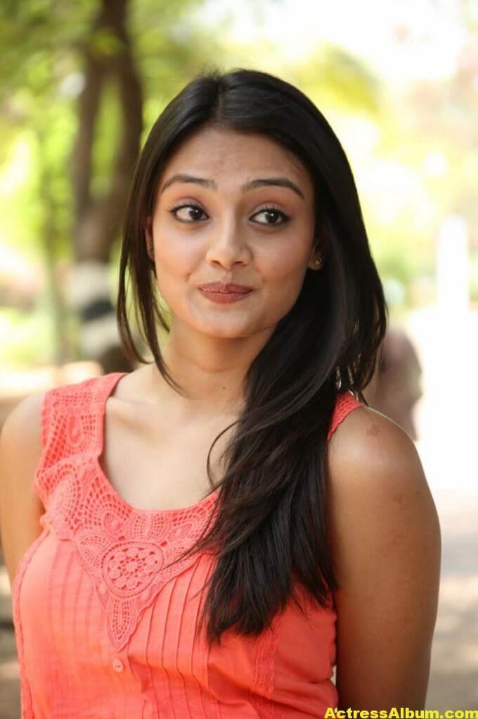 Nikitha Narayan Latest Cute Photo Shoot In Pink Dress 5