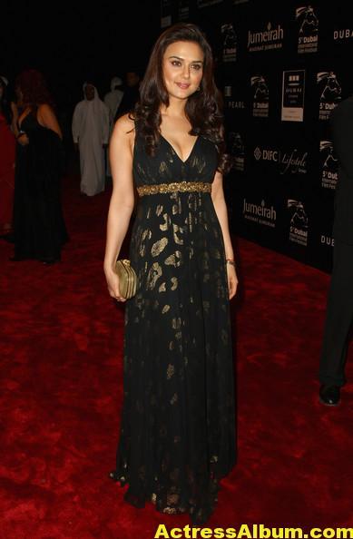 Preity Zinta Latest Photos In Black Dress 2