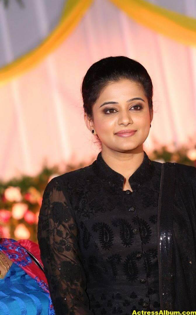Priyamani Latest Hot Stills In Black Dress 5