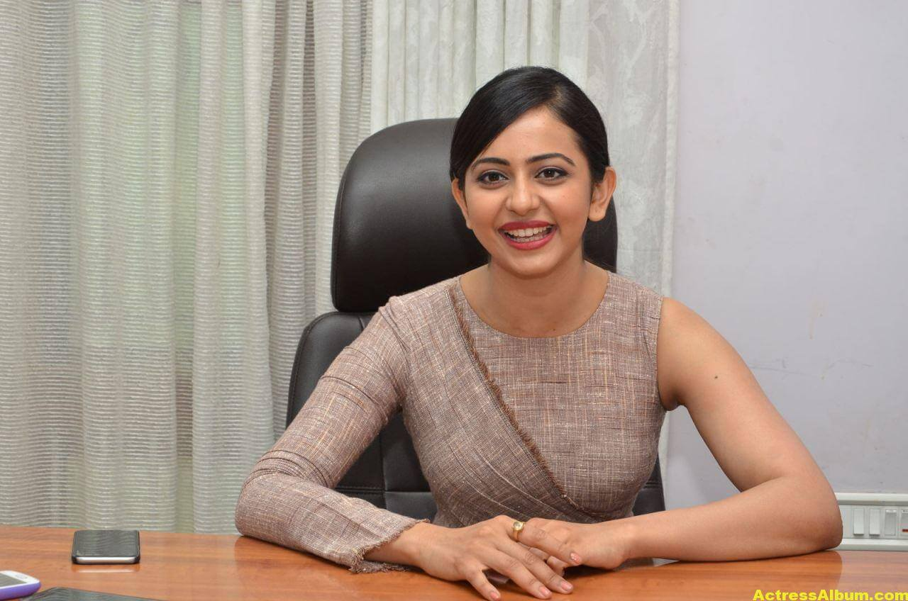 Rakul Preet Photoshoot From Nannaku Prematho Interview 0