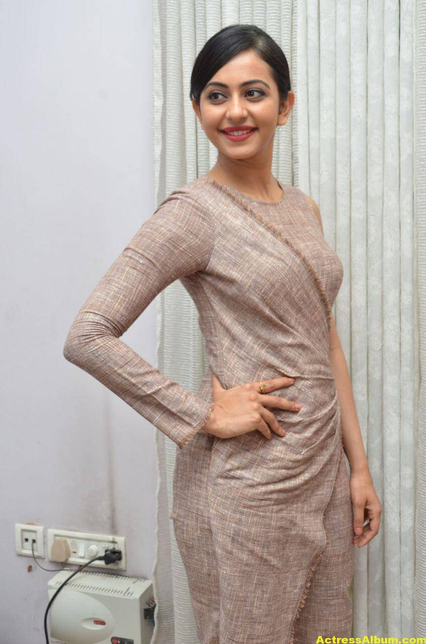 Rakul Preet Photoshoot From Nannaku Prematho Interview 7