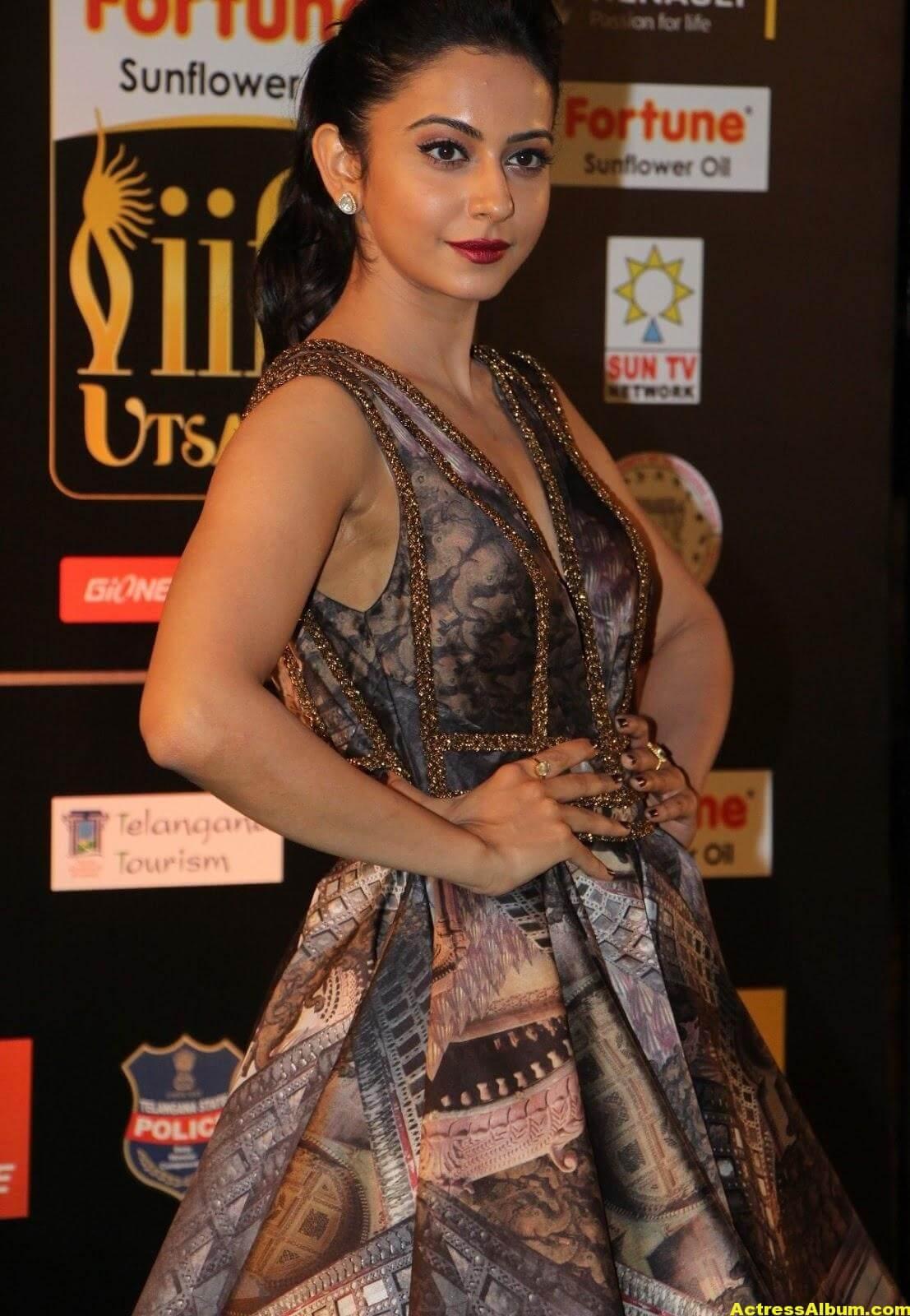 Rakul Preet Singh Hot Stills At Iifa Utsavam 6