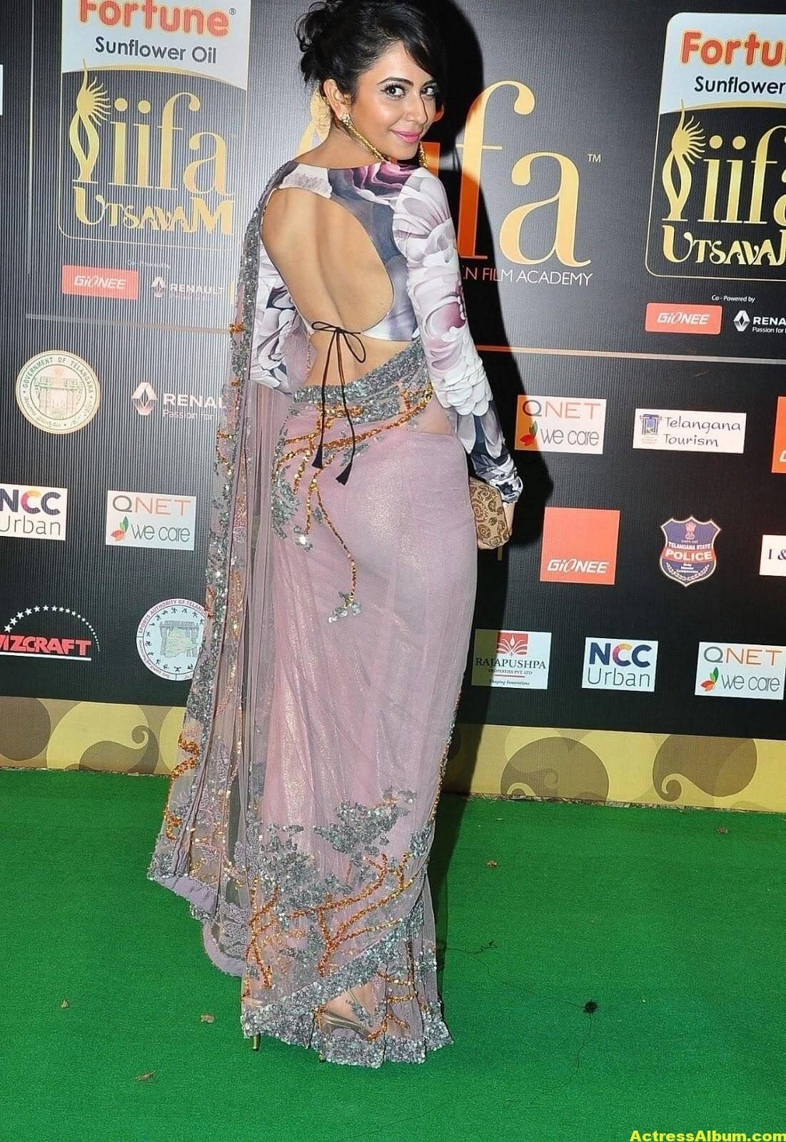 Rakul Preet Singh Stills At Iifa Utsavam 2