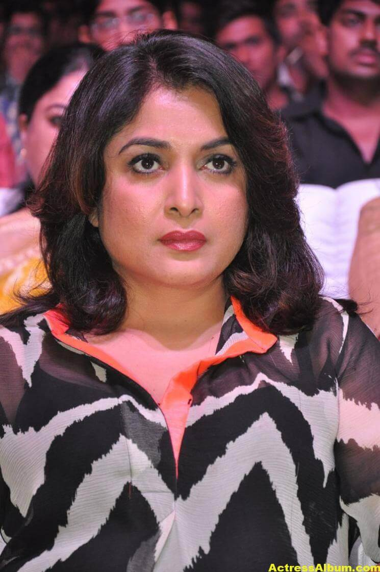Ramya Krishna Latest Cute Stills In Black Dress 1