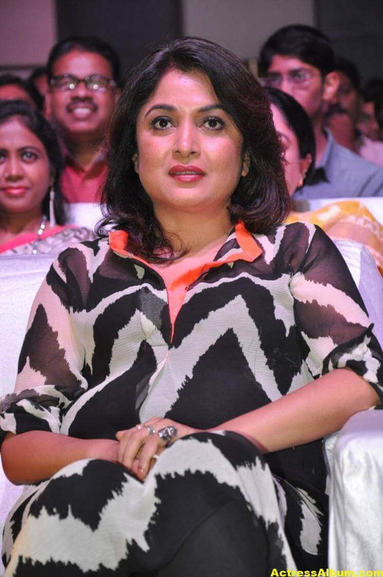 Ramya Krishna Latest Cute Stills In Black Dress 2