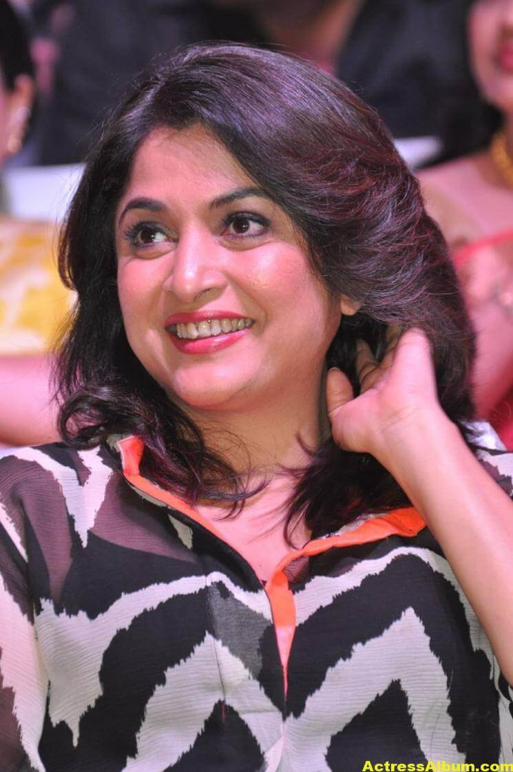 Ramya Krishna Latest Cute Stills In Black Dress 3