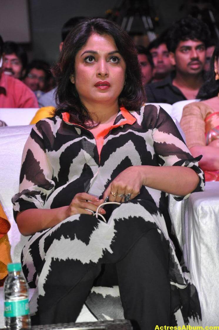 Ramya Krishna Latest Cute Stills In Black Dress 4