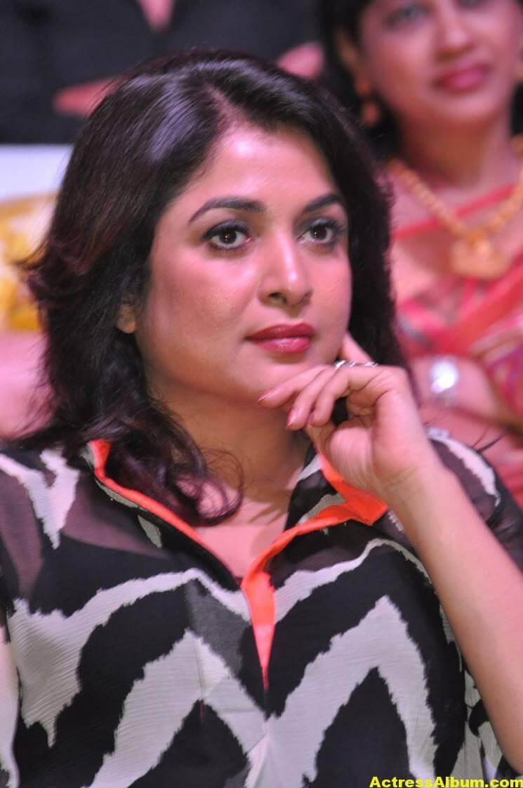 Ramya Krishna Latest Cute Stills In Black Dress 6