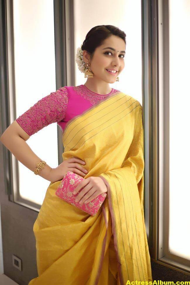 Rashi Khanna Stills At Director Krish Marriage 0