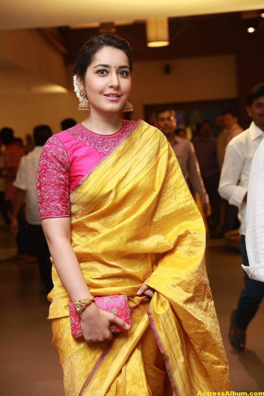 Rashi Khanna Stills At Director Krish Marriage 1