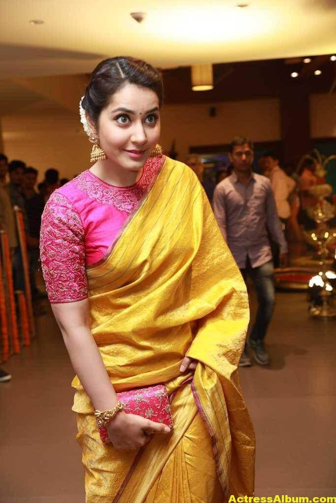 Rashi Khanna Stills At Director Krish Marriage 3