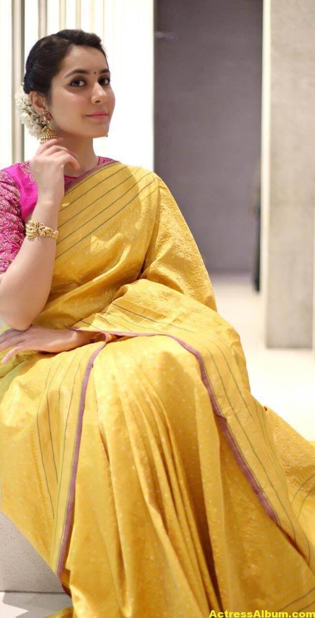 Rashi Khanna Stills At Director Krish Marriage 4