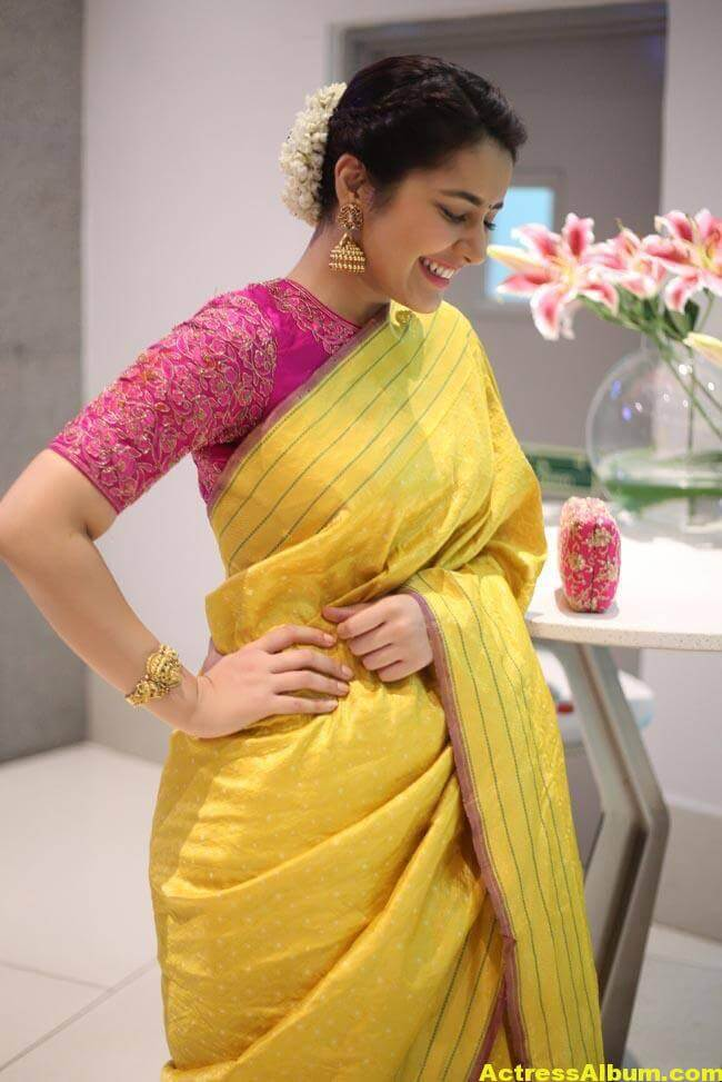 Rashi Khanna Stills At Director Krish Marriage 5