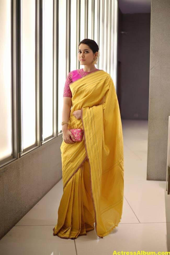 Rashi Khanna Stills At Director Krish Marriage 7