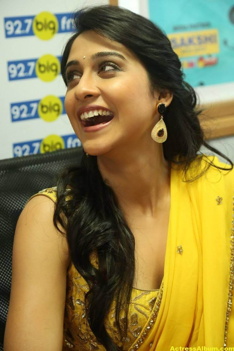 Regina Cassandra Latest Hot Stills In Yellow Saree 4