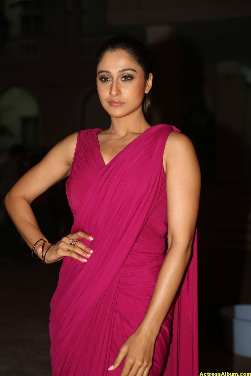 Regina Cassandra Stills At Soukyam Movie Press Meet 2